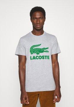 Lacoste - T-shirt imprimé - silver chine