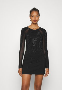 Diesel - D-BRILLA DRESS - Jersey dress - black