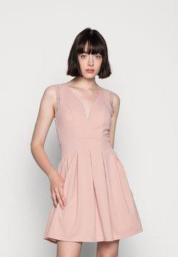 WAL G. - SKATER DRESS - Trikoomekko - blush pink