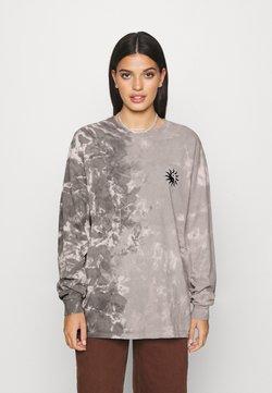 BDG Urban Outfitters - TIE DYE SKATE TEE - Langarmshirt - grey