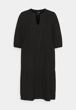 Vero Moda Curve - VMMANA ABOVE KNEE DRESS - Freizeitkleid - black