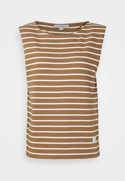 comma casual identity - T-Shirt print - beige