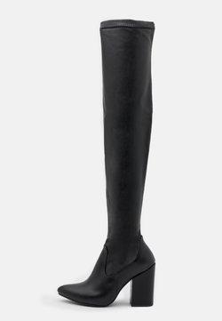 Trendyol - Overknee laarzen - black