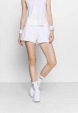 Nike Performance - Träningsshorts - white/black