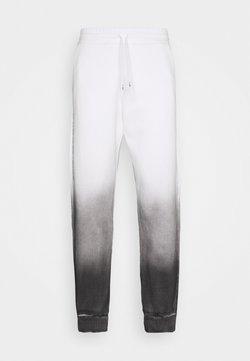 F_WD - Jogginghose - white/black