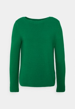 Marc O'Polo - LONGSLEEVE STAND UP - Strickpullover - azure green