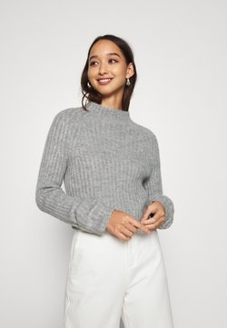 Monki - Strikkegenser - grey dusty light