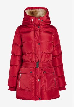 Next - BELTED PADDED - Wintermantel - red