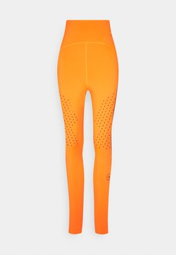 adidas by Stella McCartney - TRUEPUR - Tights - signal orange