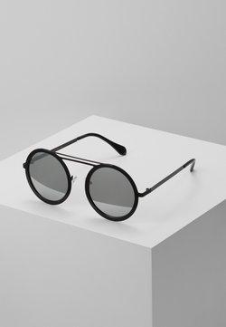 Urban Classics - CHAIN SUNGLASSES - Lunettes de soleil - silver mirror/black