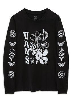 Vans - WM MASC ON - Pitkähihainen paita - black