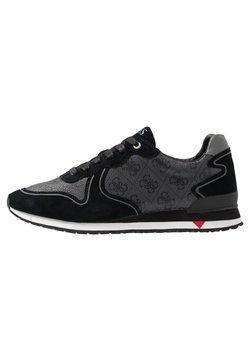 Guess - NEW GLORYM - Sneaker low - black/grey