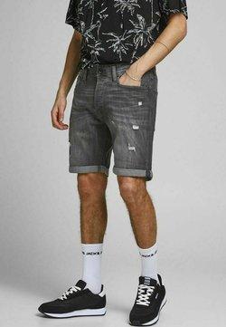 Jack & Jones - RICK ORIGINAL - Shorts di jeans - black denim