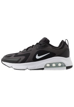 Nike Sportswear - AIR MAX 200 - Sneakers laag - black/white/off noir/metallic silver
