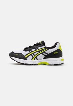 ASICS SportStyle - GEL-ESCALATE UNISEX - Sneaker low - white/lime zest