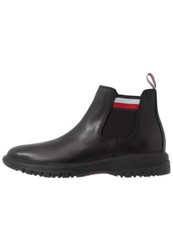 Tommy Hilfiger - CLEATED OUTSOLE CHELSEA BOOT - Bottines - black