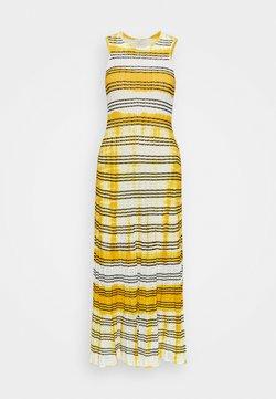 sandro - JULIE - Strickkleid - ecru/jaune
