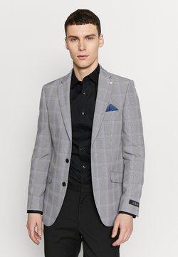 Burton Menswear London - GRAPHIC CHECK - Puvuntakki - grey