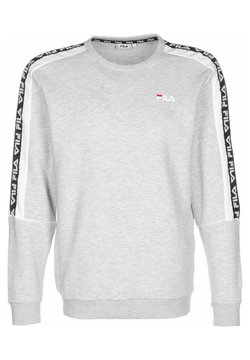Fila - TEOM - Sweatshirt - light grey/bright white