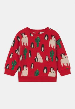 Lindex - FUNNY CHRISTMAS UNISEX - Sweater - red