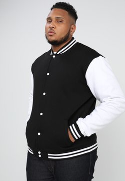 Urban Classics - COLLEGE - veste en sweat zippée - black/white