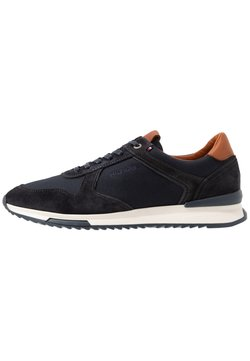 Tommy Hilfiger - RUNNER MIX - Sneakers laag - blue