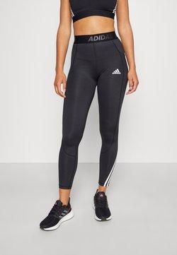 adidas Performance - 3-STRIPES TECHFIT AEROREADY TIGHT - Collant - black