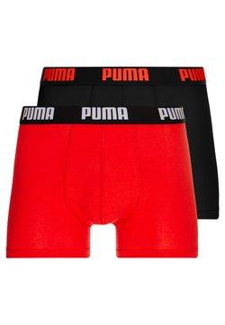 Puma - BASIC 2 PACK - Shorty - red/black