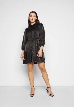 Pieces Curve - PCRAVENNA DRESS - Blusenkleid - black