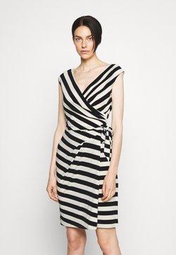 Lauren Ralph Lauren - SAIDA DAY DRESS - Etuikleid - colonial cream/black