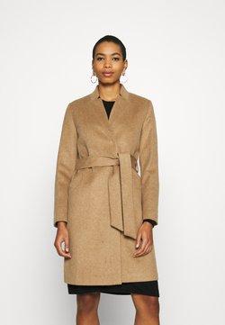Selected Femme - SLFMELLA COAT - Classic coat - tigers eye