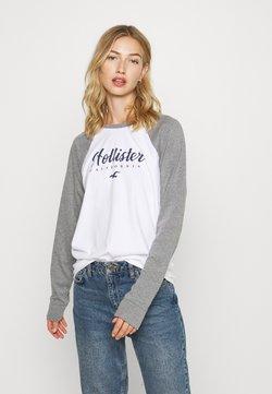 Hollister Co. - SPORTY - Langarmshirt - grey
