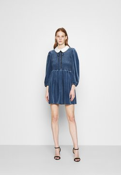 Sister Jane - CHOUX MINI DRESS - Cocktailkleid/festliches Kleid - blue