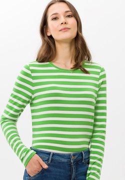 BRAX - STYLE CARINA - Langarmshirt - green