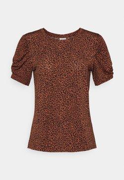 JDY - JDYKIRKBY - T-Shirt print - rustic brown