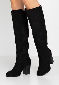 Nly by Nelly - BLOCK KNEE HIGH BOOT - Bottes - black