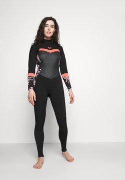 Roxy - Badeanzug - black/bright coral