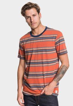 Quiksilver - REGULAR FIT - T-Shirt print - burnt brick