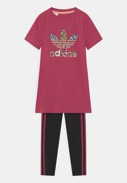 adidas Originals - SET - Leggings - Hosen - wild pink/black