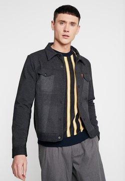 Levi's® Engineered Jeans - KNIT TRUCKER - Kevyt takki - dark heather grey