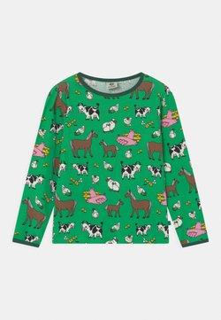 Småfolk - FARM UNISEX - Camiseta de manga larga - apple green