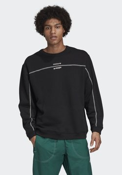 adidas Originals - CREW SWEATSHIRT - Sweatshirt - black