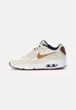 Nike Sportswear - AIR MAX 90 SE UNISEX - Sneakers laag - coconut milk/wheat-obsidian-white