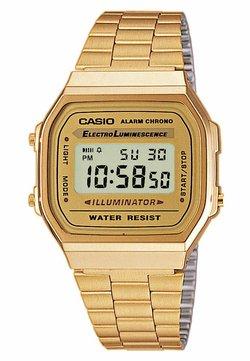 Casio - Montre à affichage digital - gold