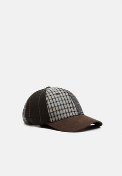 Hackett London - PATCHWORK - Cap - grey/multi
