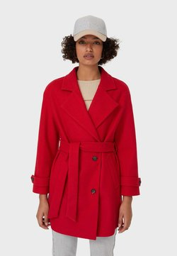 Stradivarius - Trench - red