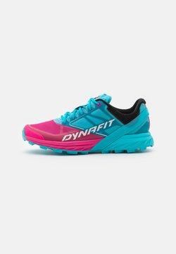 Dynafit - ALPINE  - Zapatillas de trail running - turquoise/pink glow