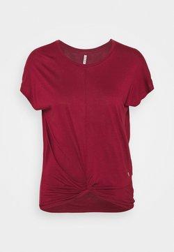 Deha - KNOT - Print T-shirt - tango red