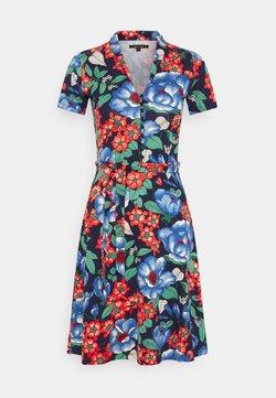 King Louie - EMMY DRESS KIMORA - Shirt dress - blue