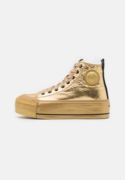 Diesel - ASTICO S-ASTICO MC WEDGE SNEAKERS - Sneakers high - gold